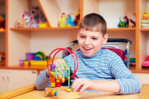 How to Help a Child with Cerebral Palsy During Playtime